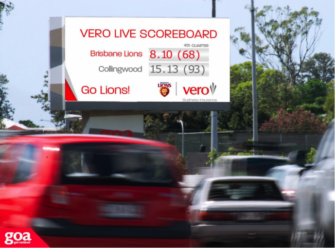 Vero Insurance 'kicks a goal' with Brisbane Lions Sponsorship campaign